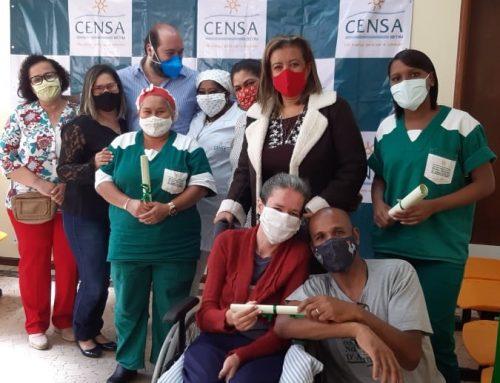Colaboradores do CENSA Betim são homenageados